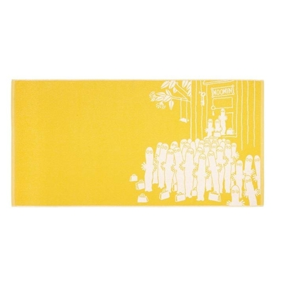 Finlayson Hattifatteners bath towel, yellow