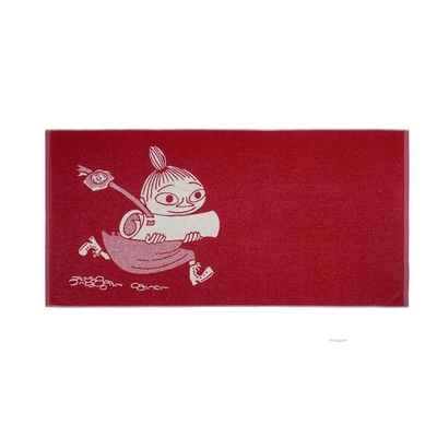Finlayson Little My bath towel, red