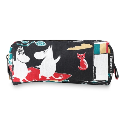 Finlayson Magic Moomin makeup bag, black/colorful