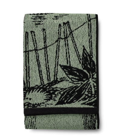 Finlayson Moomin Forest Moomin Bath towel 70x140 cm, light green