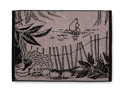 Finlayson Moomin Forest Moomin big hand towel 50x70cm, rose