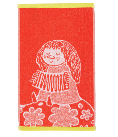 Finlayson Moomin hand towel 30x50cm Salome, orange