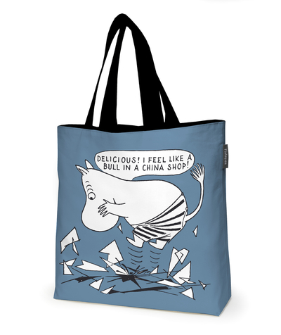 Finlayson Moomin layered bag, blue