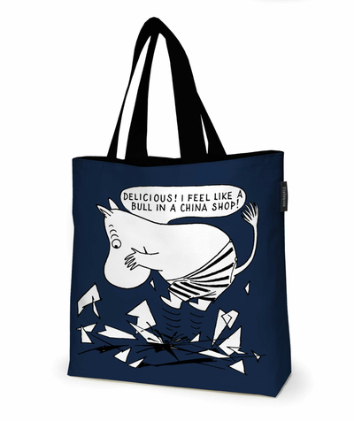 Finlayson Moomin layered bag Delicious, blue