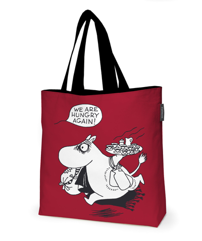 Finlayson Moomin layered bag Hungry, red