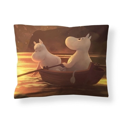 Finlayson Moomin satin pillowcase, Autumn