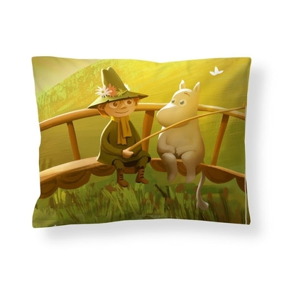 Finlayson Moomin satin pillowcase, Spring