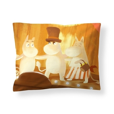 Finlayson Moomin satin pillowcase, Summer