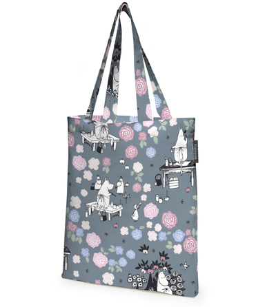 Finlayson Moominmamma daydreaming bag, blue and grey