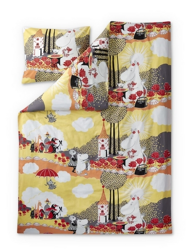Finlayson Rose Moomin Duvet Cover Set