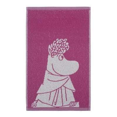 Finlayson Snorkmaiden hand towel, pink