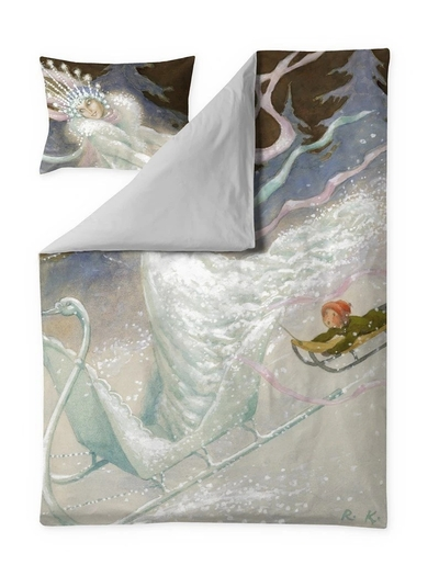 Finlayson The Snow Queen satin duvet cover set