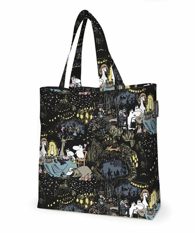 Finlayson bag Moomin Star, black