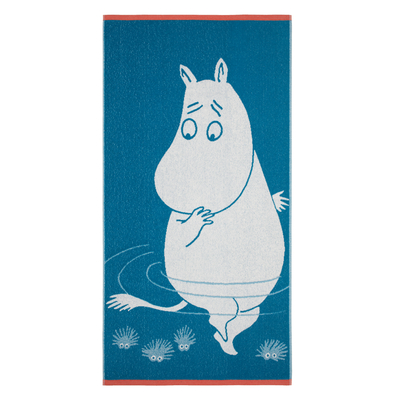 Finlayson bath towel, Moomintroll and the Reflection