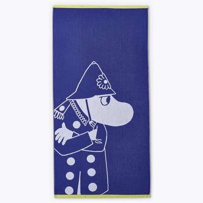 Finlayson bath towel the Police Inspector, blue 70x140cm