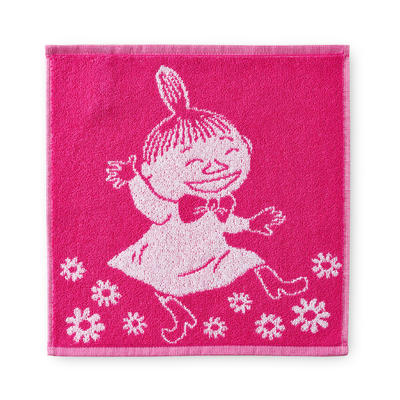 Finlayson face towel Little My, pink