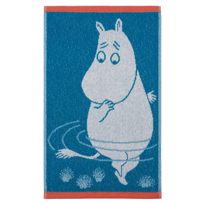 Finlayson hand towel, Moomintroll and the Reflection