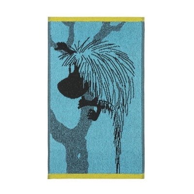 Finlayson hand towel 30x50cm, Ancestor, turquoise