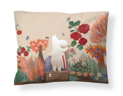 Finlayson satin pillowcase, Moominmamma