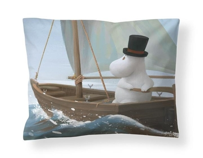 Finlayson satin pillowcase, Moominpappa