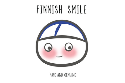 Finnish Nightmares Postcard - Finnish Smile