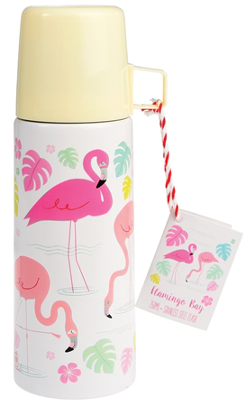 Flamingo Bay thermos with a mug, 350ml