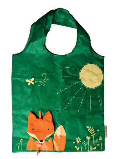 Fold up shopper bag, Fox