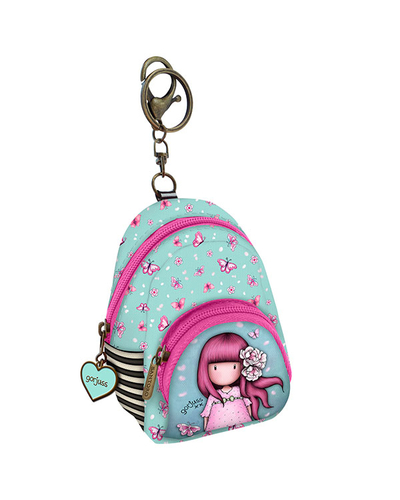 Gorjuss™ Bag decoration tiny backpack Cherry Blossom