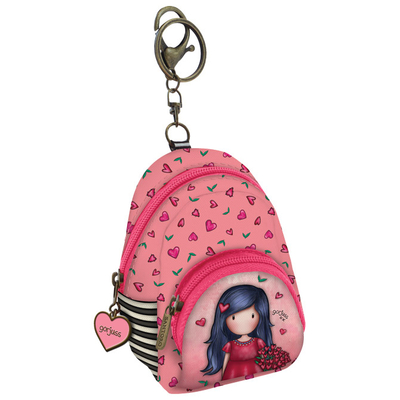 Gorjuss™ Bag decoration tiny backpack Love Grows