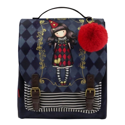 Gorjuss™ Circus backpack Harlequin