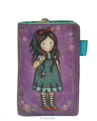 Gorjuss™ Pulling On Your Heart Strings small wallet