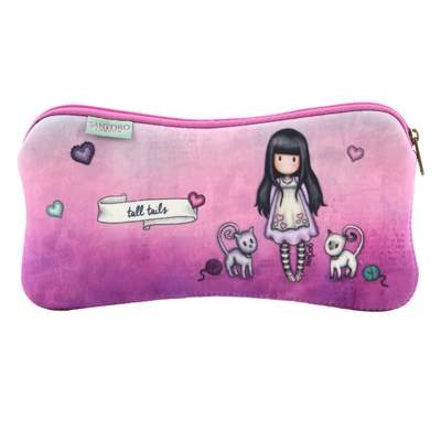 Gorjuss™ Tall Tails soft makeup bag