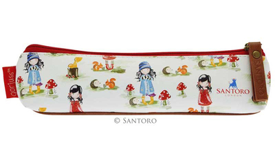 Gorjuss™ Toadstools makeup bag