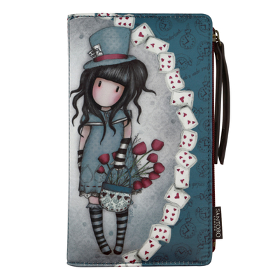Gorjuss™ big wallet, The Hatter