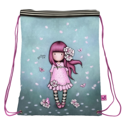 Gorjuss™ drawstring gym bag Cherry Blossom