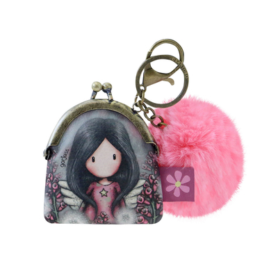 Gorjuss™ keychain/purse, Little Wings