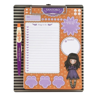 Gorjuss™ magnetic notebook Cobwebs