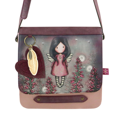 Gorjuss™ shoulder bag with a flap, Little Wings