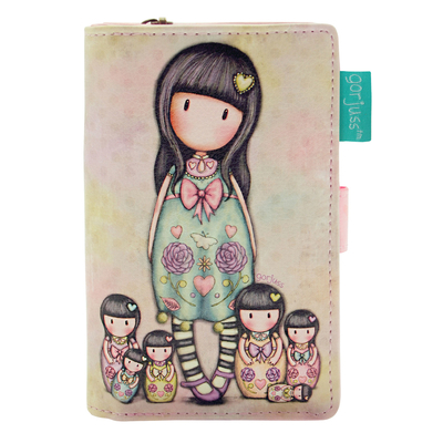 Gorjuss™ small wallet, Seven sisters