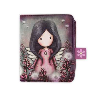 Gorjuss™ wallet with a detachable purse Little Wings