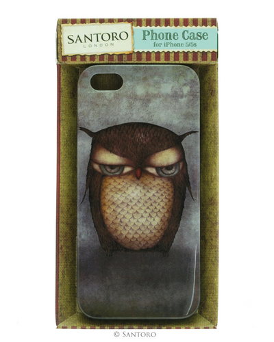 Grumpy Owl iPhone 5 Hard Case