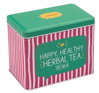 Happy Jackson tin can, Herbal Tea