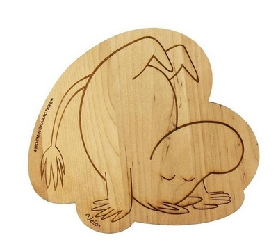 Hot pan coaster Moomintroll