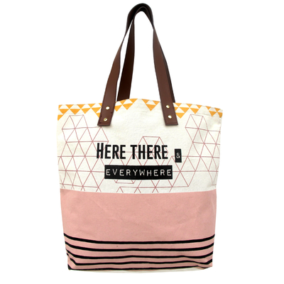 "House of Disaster Arm Candy ""Here, there..."" Shopper bag"