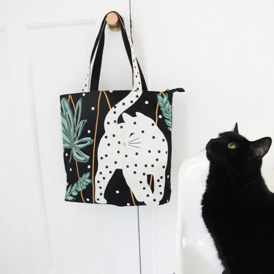 House of Disaster Feline shopper bag