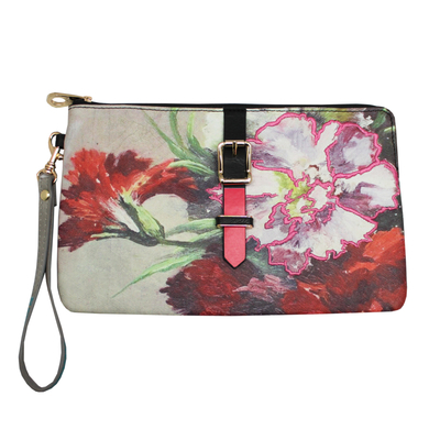 House of Disaster Framed clutch bag / makeup bag
