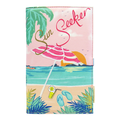 House of Disaster Keepsake travel wallet, Sun seeker