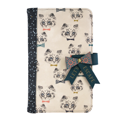House of Disaster Meow travel wallet