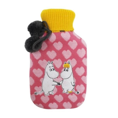 House of Disaster Moomin Hot water bottle, Heart