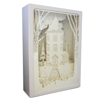 House of Disaster Moomin Shadow Light Box, big, Night